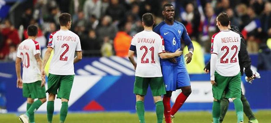 Франция-България приятелски мач